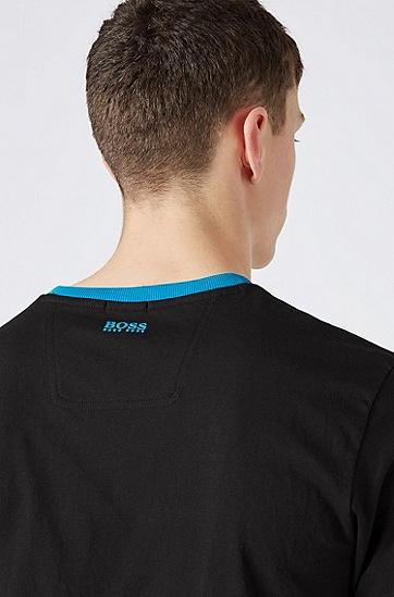 男士休闲时尚短袖T恤,  001_黑色