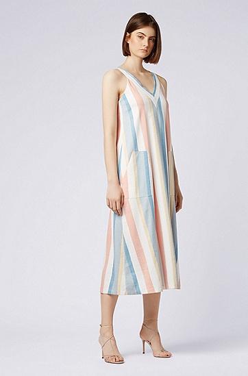 女士休闲时尚连衣裙,  967_多色