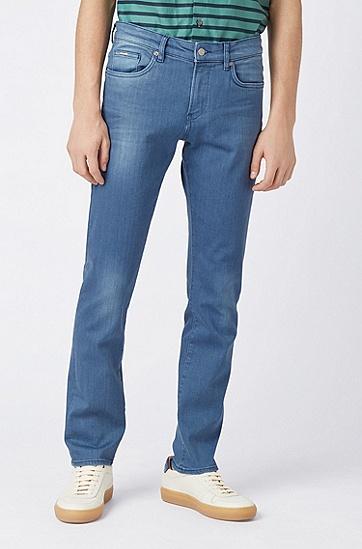 男士休闲牛仔裤,  430_亮蓝色