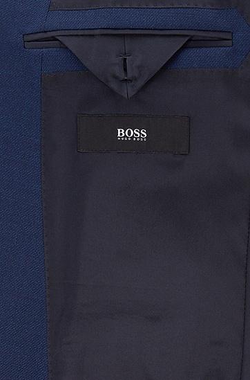 男士商务休闲长袖夹克西服外套,  475_淡蓝色