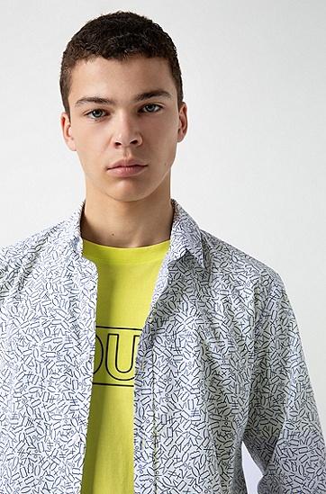 男士商务休闲长袖衬衫,