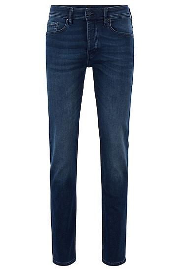 男士休闲牛仔裤长裤,  411_海军蓝色