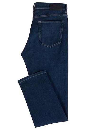 男士休闲牛仔裤,  413_海军蓝色
