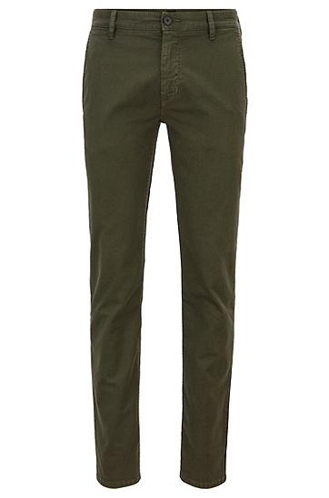 男士休闲直筒长裤,  346_淡绿色