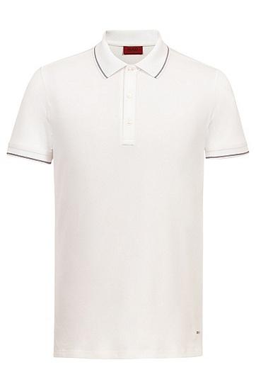男士商务休闲短袖Polo衫,  100_白色