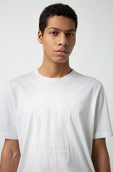 男士商务短袖T恤衫,  100_白色