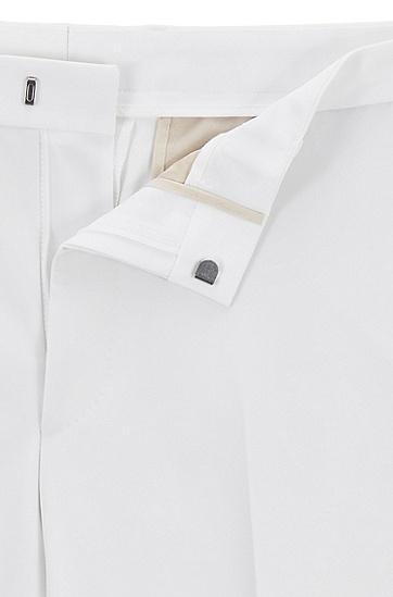 男士白色经典时尚气质西服套装,  100_白色