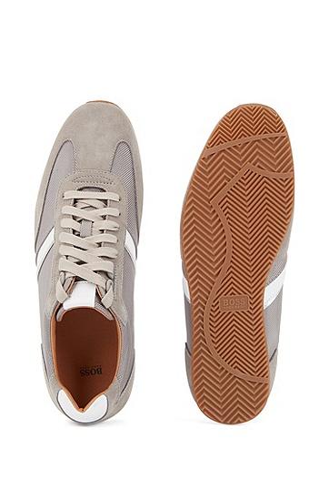 男士商务休闲运动鞋,  030_中灰色