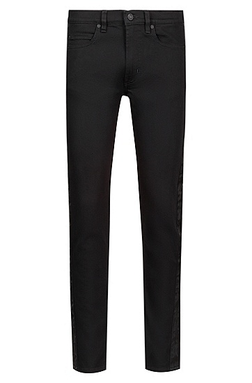 男士休闲时尚牛仔裤,  001_黑色