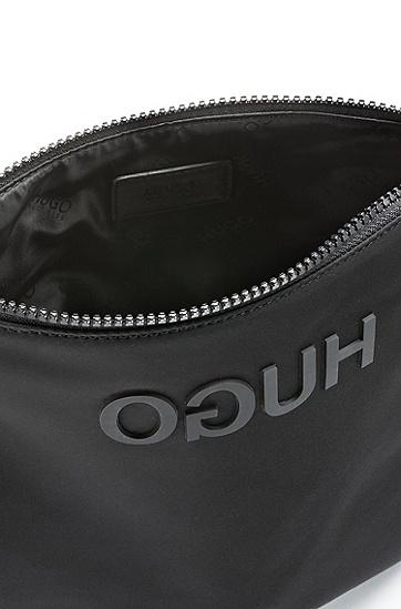 男士商务休闲斜挎包袋,  001_黑色