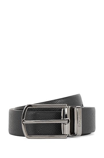 男士商务休闲腰带皮带,  001_黑色