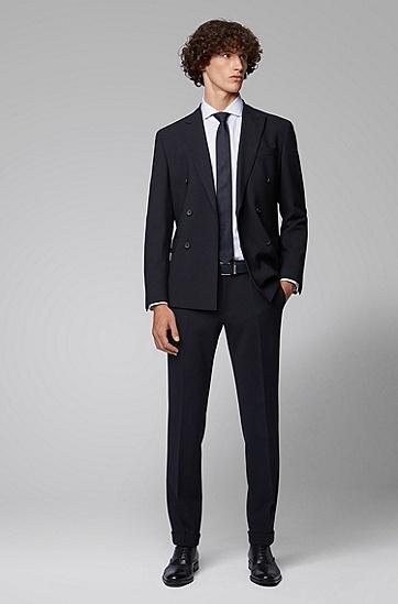 男士商务休闲腰带皮带,  401_暗蓝色