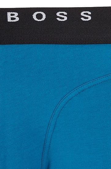 男士舒适弹力内裤,  444_水蓝色