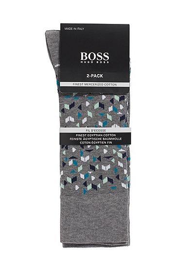 男士棉质长袜,  031_中灰色