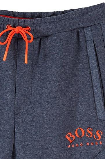 宽松直筒抽绳运动长裤休闲裤,  487_淡蓝色