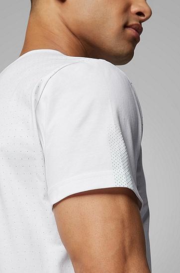 男士短袖T恤,  100_白色
