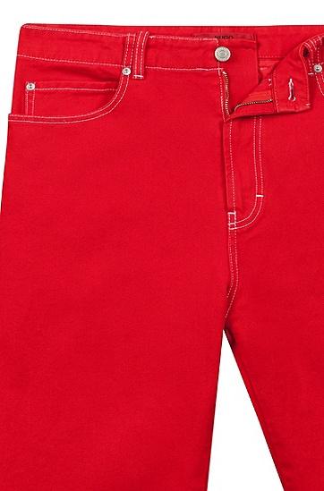 男士商务休闲长裤,  693_淡粉色