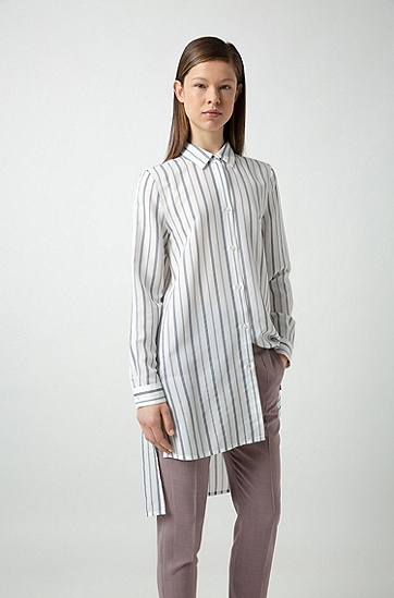 女士商务休闲裤,  683_浅粉色