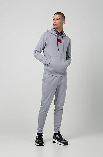 男士时尚束腰休闲运动裤,  034_中灰色