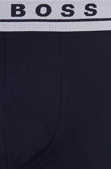 舒适休闲三条装印花LOGO内裤,  963_多色