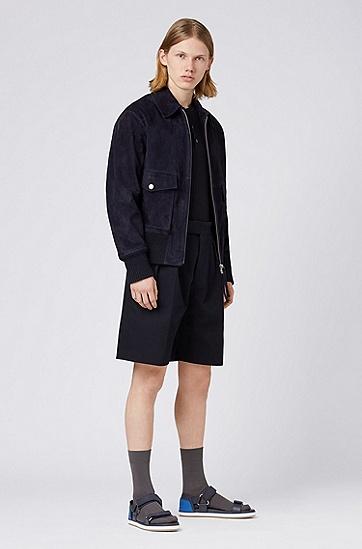 男士时尚休闲外套,  410_海军蓝色
