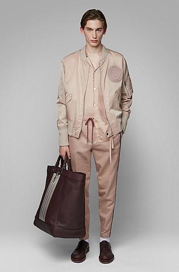 男士时尚简约衬衫,  681_浅粉色