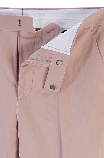 男士商务休闲西装套装,  681_浅粉色