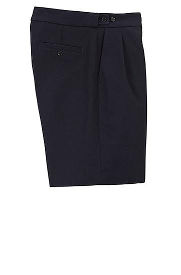 男士时尚休闲短裤,  410_海军蓝色