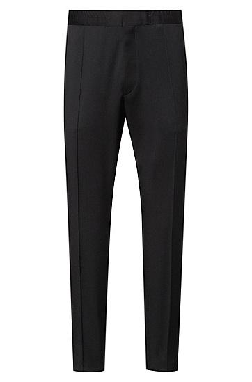 男士商务休闲西装裤,  001_黑色