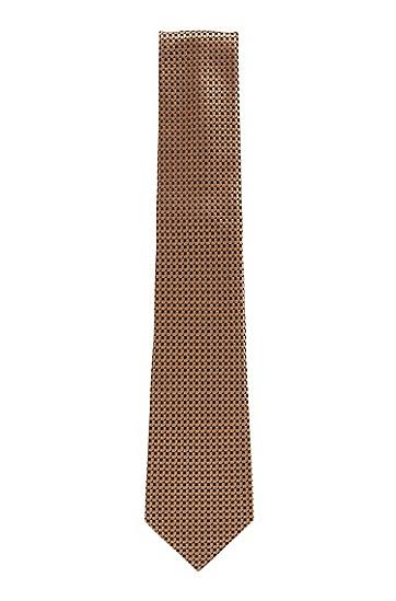 男士纹桑蚕丝领带,  262_中米色