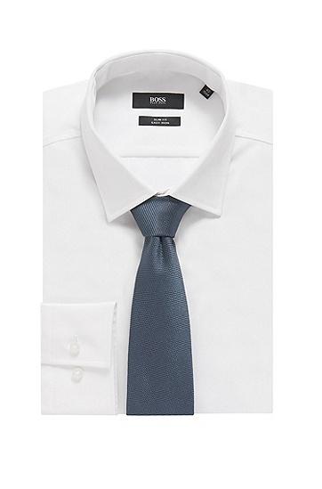 男士商务休闲格纹绅士领带,  465_淡蓝色