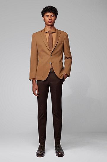 时尚休闲双面牛皮腰带,  201_暗棕色