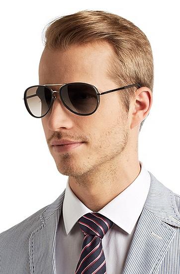 飞行员太阳眼镜'BOSS 0510/S',  999_实物颜色