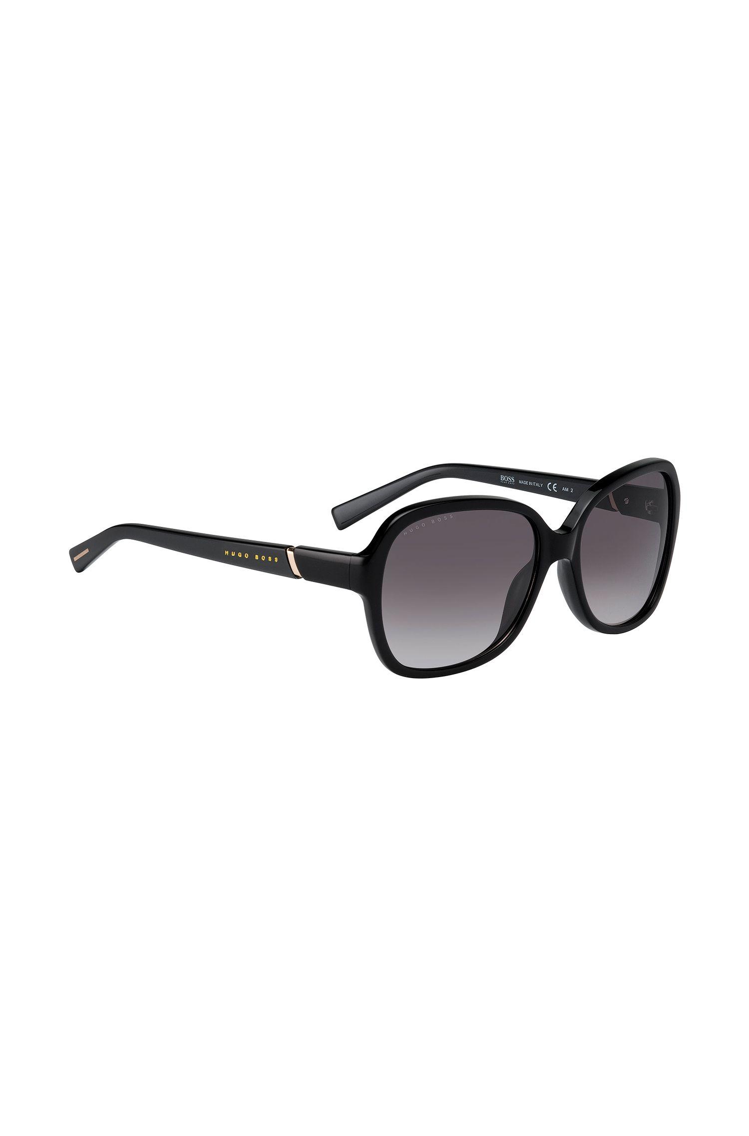 Oversize-Sonnenbrille mit Vollrandfassung: '0527/S'