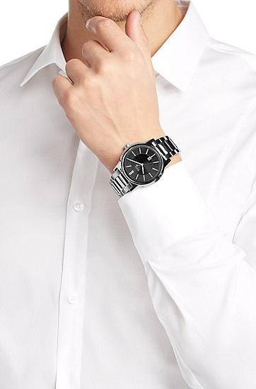 Armbanduhr ´HB6000` mit Edelstahlarmband, Assorted-Pre-Pack