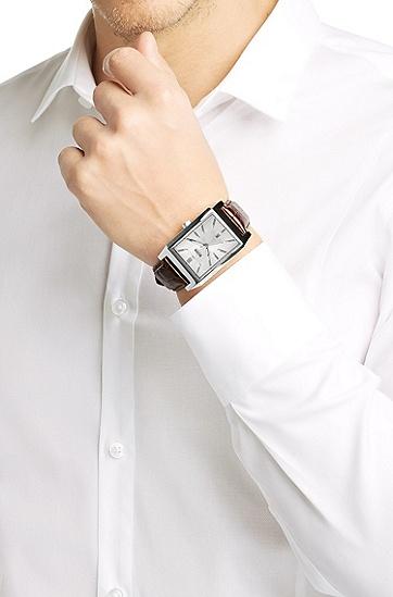 Armbanduhr ´HB6001` mit Lederarmband, Assorted-Pre-Pack