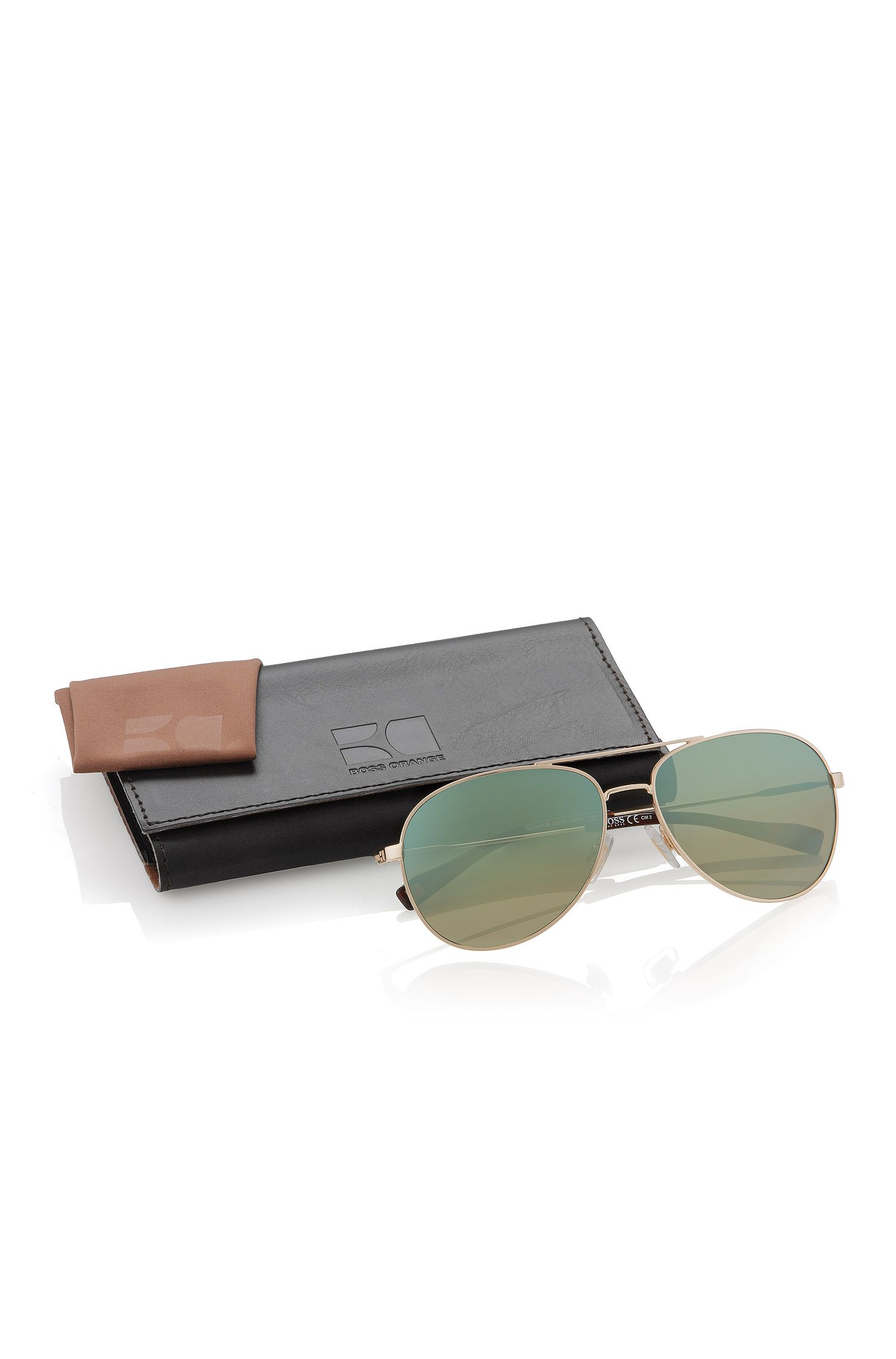 Sonnenbrille ´BO 0157/S` in Gold-Optik