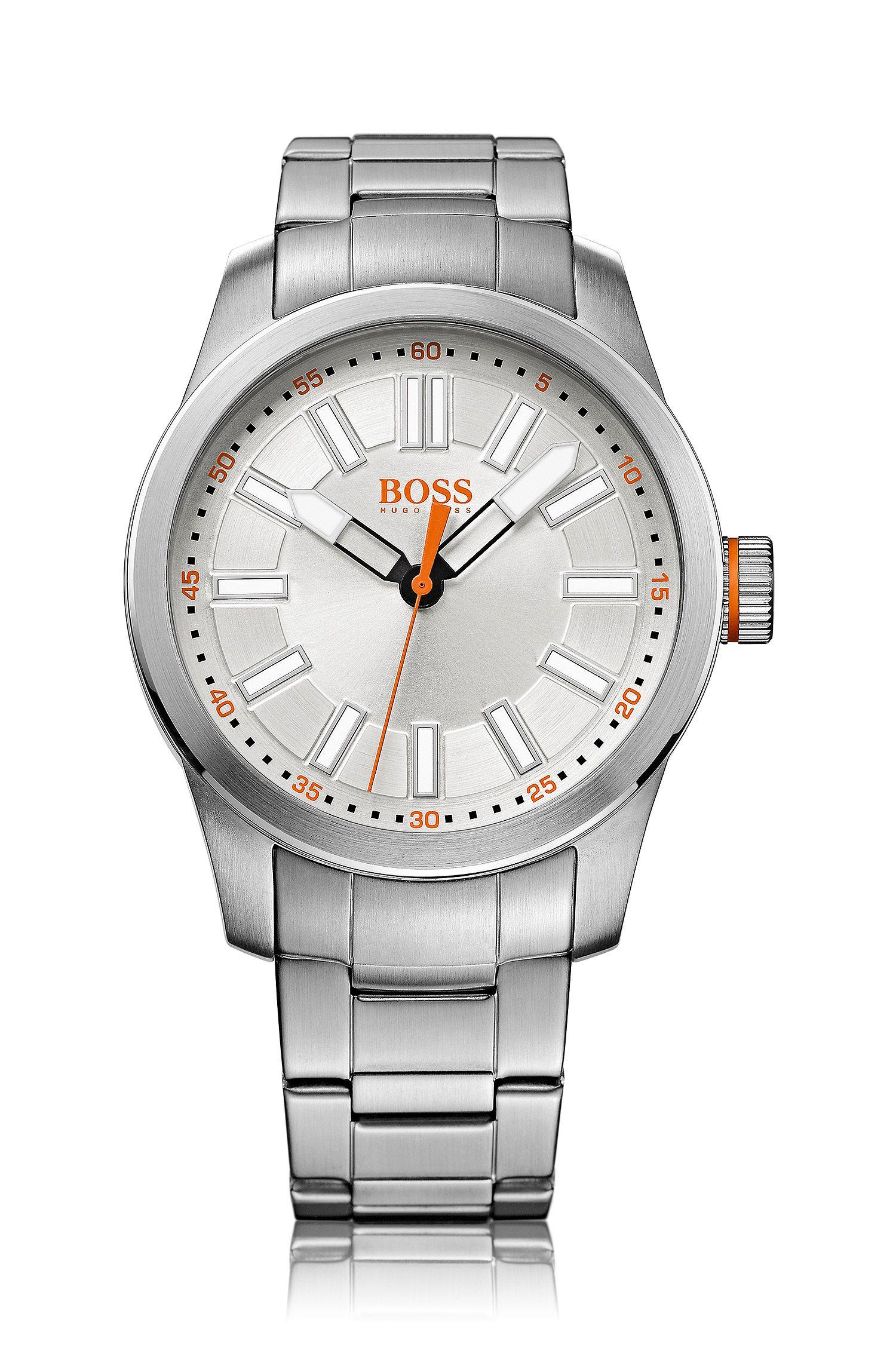 Armbanduhr ´HO7001` im Edelstahldessin