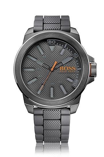 New York系列深灰色男士腕表 HO7010,  999_实物颜色
