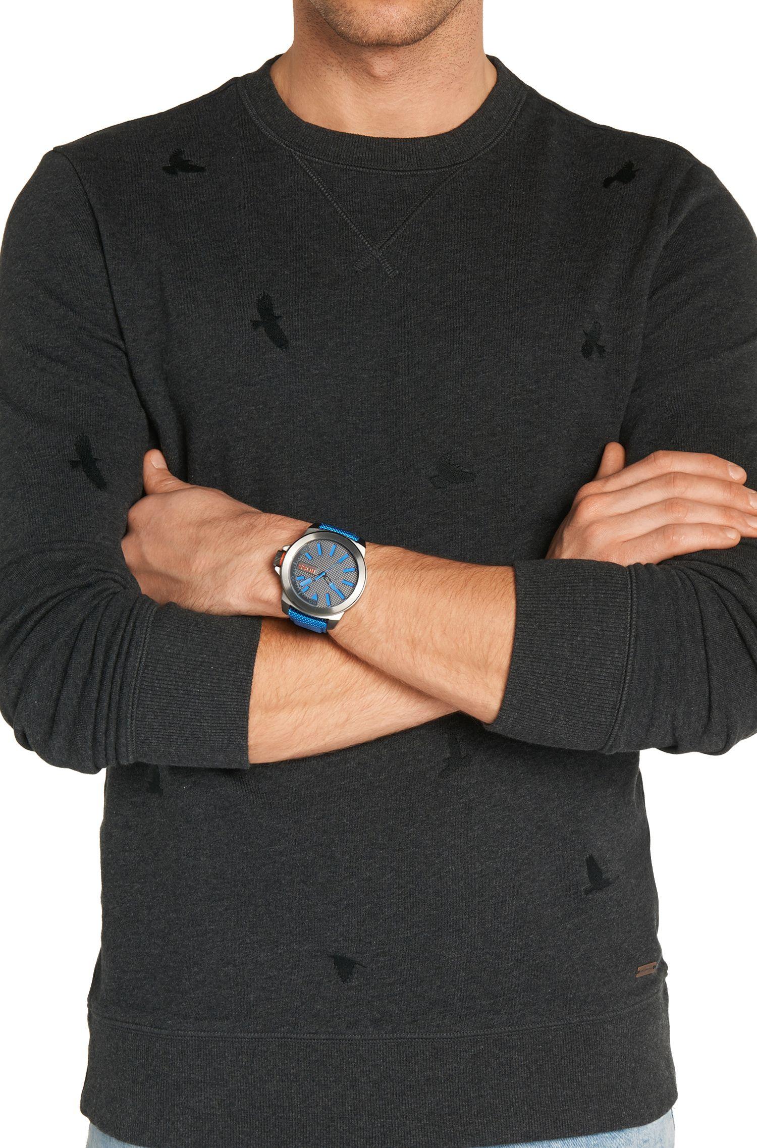 Armbanduhr mit Edelstahlgehäuse: 'Hb2111'