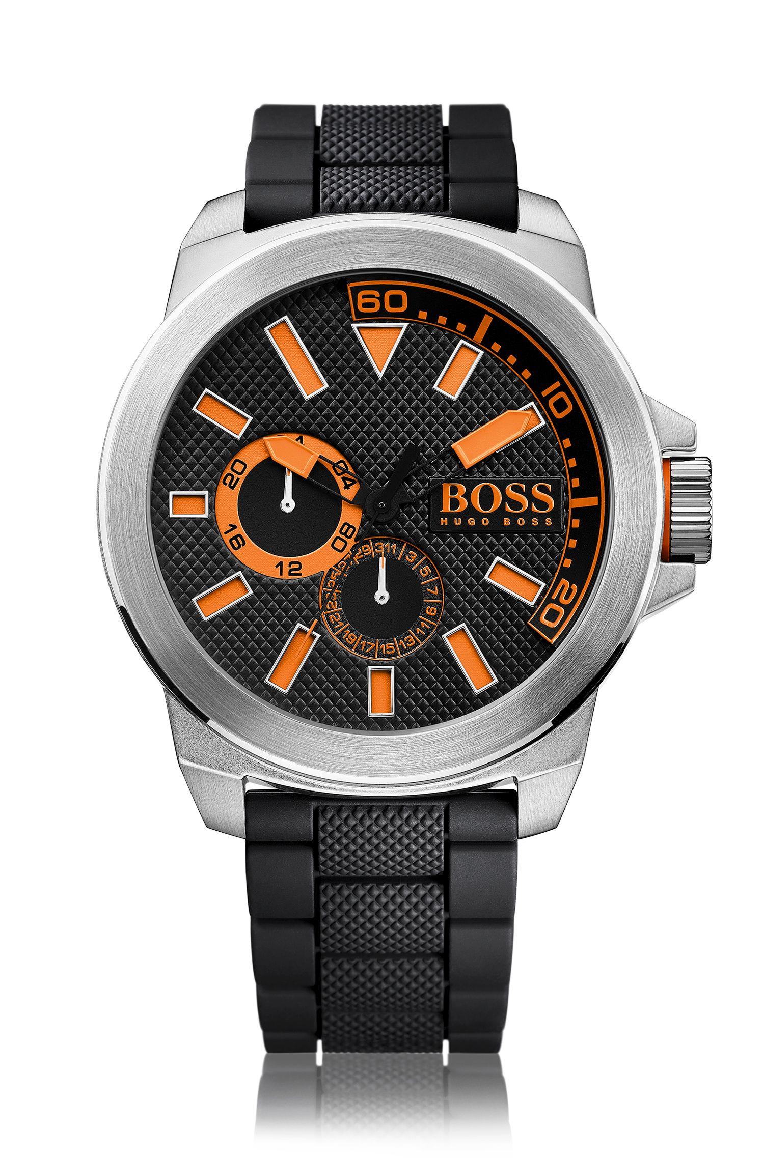 Reloj con indicadores y caja de acero inoxidable: 'HB2221'