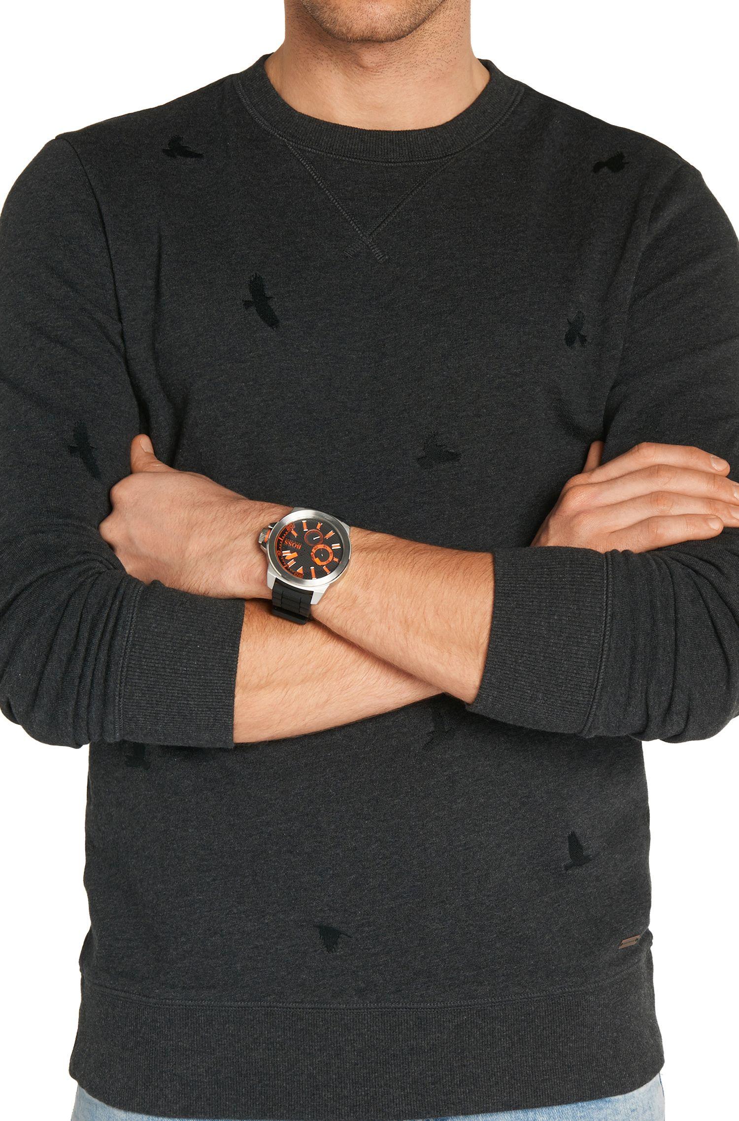 Multi-eye-horloge met kast van roestvrij staal: 'HB2221'