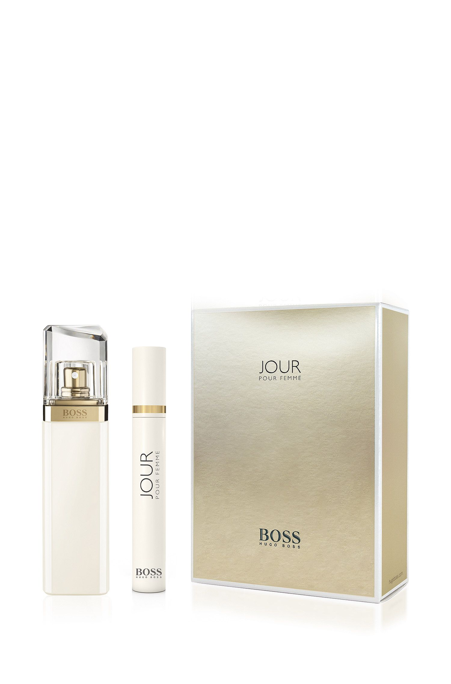 Duftset BOSS Jour mit Eau de Toilette und Travel Spray