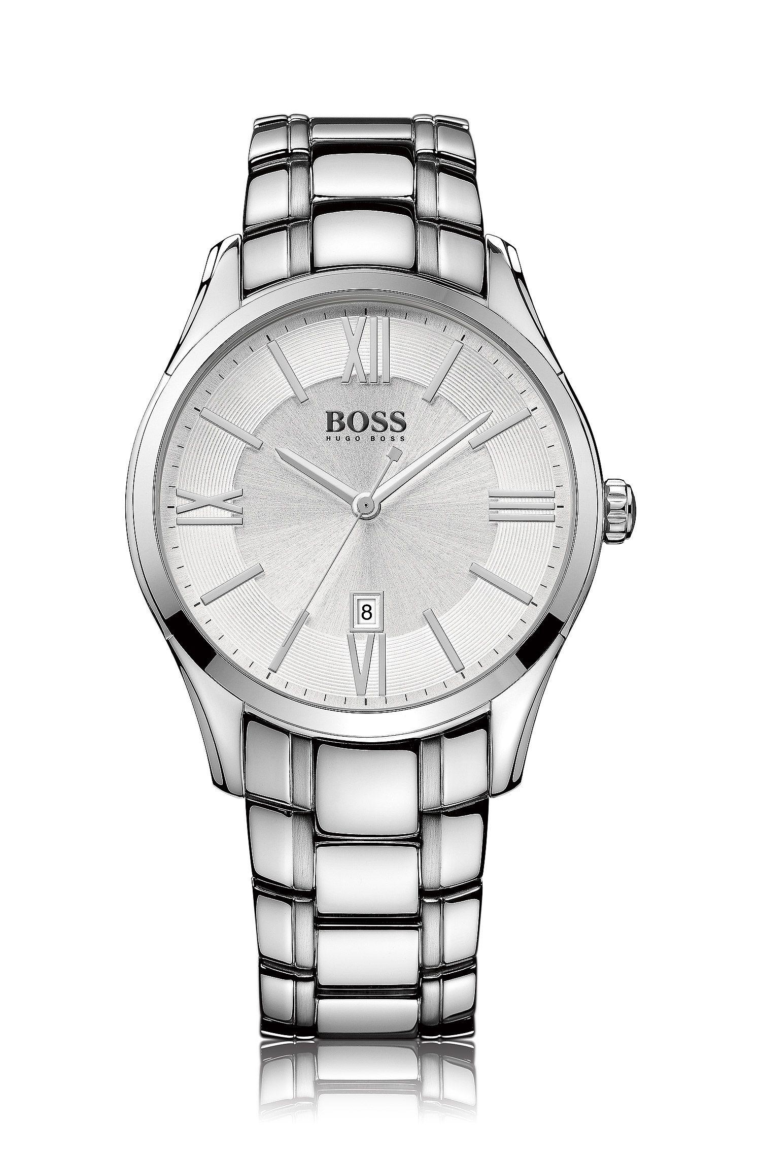 Armbanduhr ´HB6038` mit weißem Zifferblatt