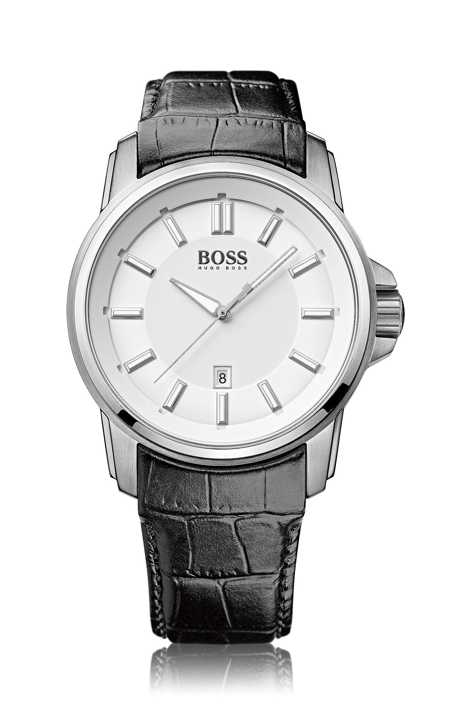 Montre-bracelet «HB6040» avec cadran blanc