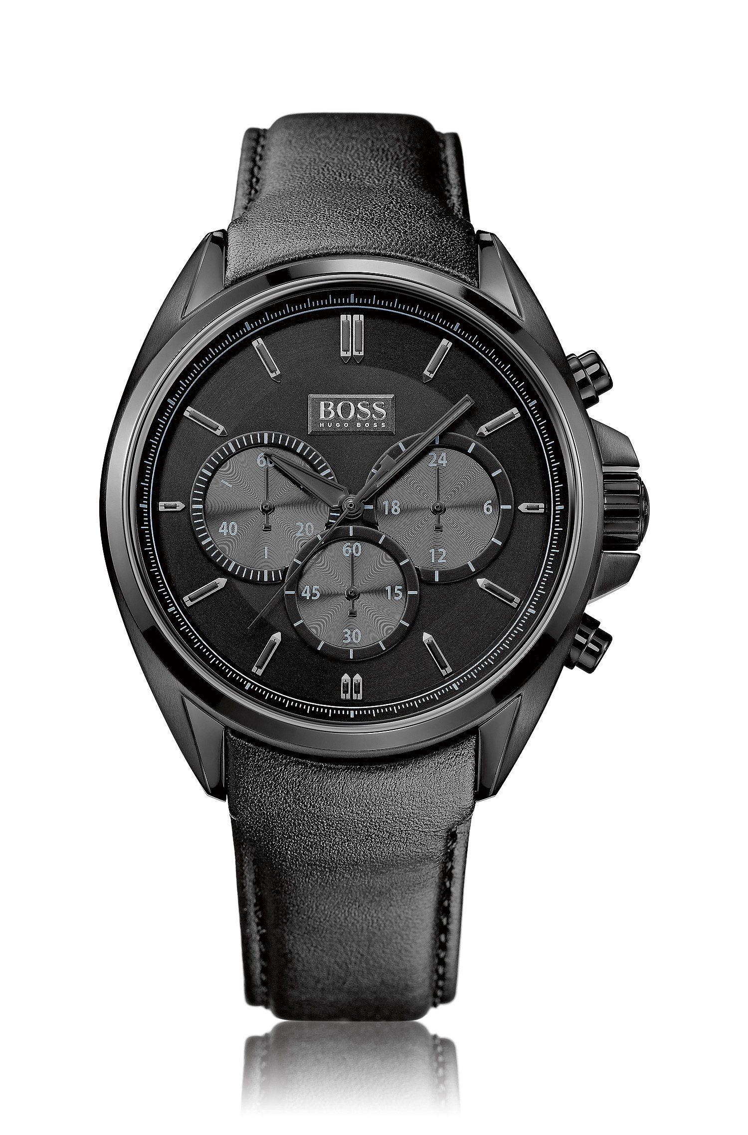 Chronograaf 'HB301' in een zwart-grijs dessin