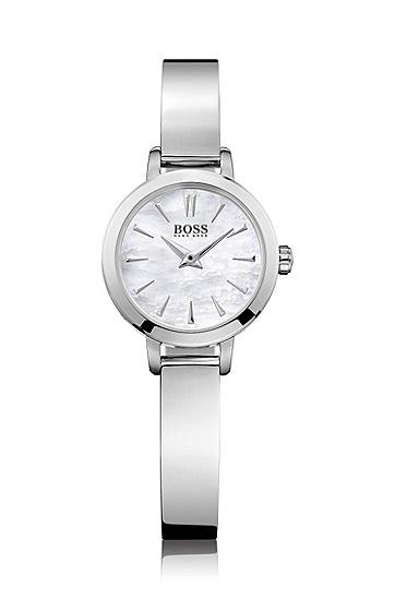 细致典雅不锈钢表带腕表'HB6020',  999_实物颜色