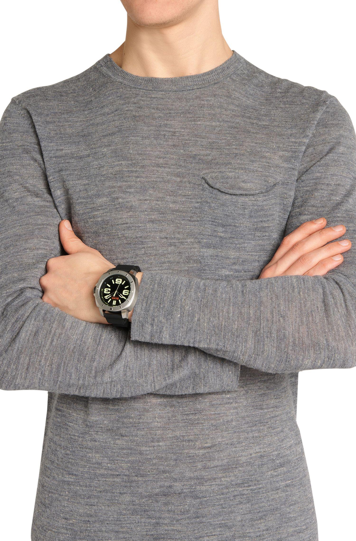 Montre-bracelet «HO7019» avec boîtier en acier inox