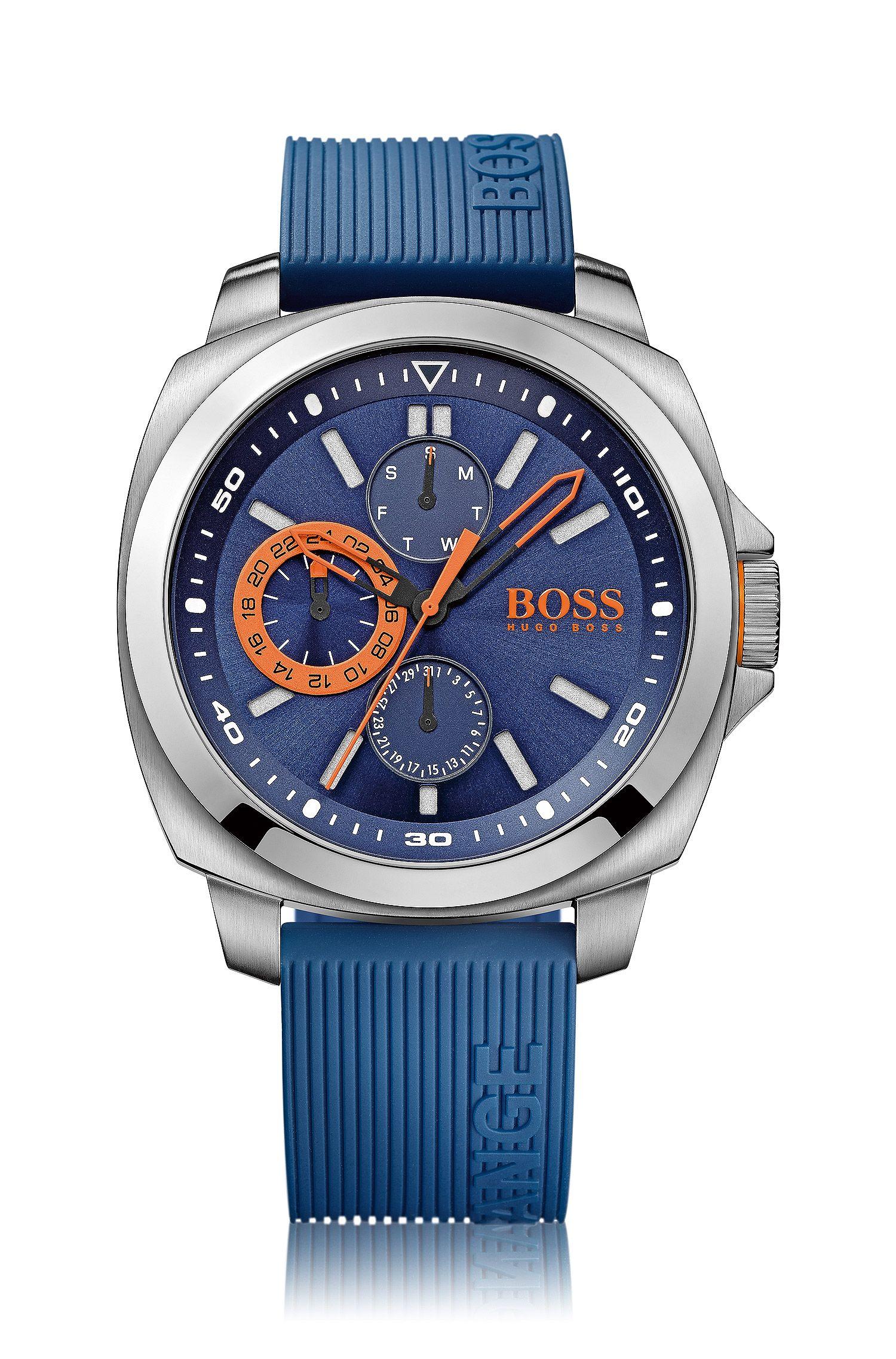 Montre-bracelet avec boîtier en acier inox et mécanisme à trois aiguilles: «HB2291»