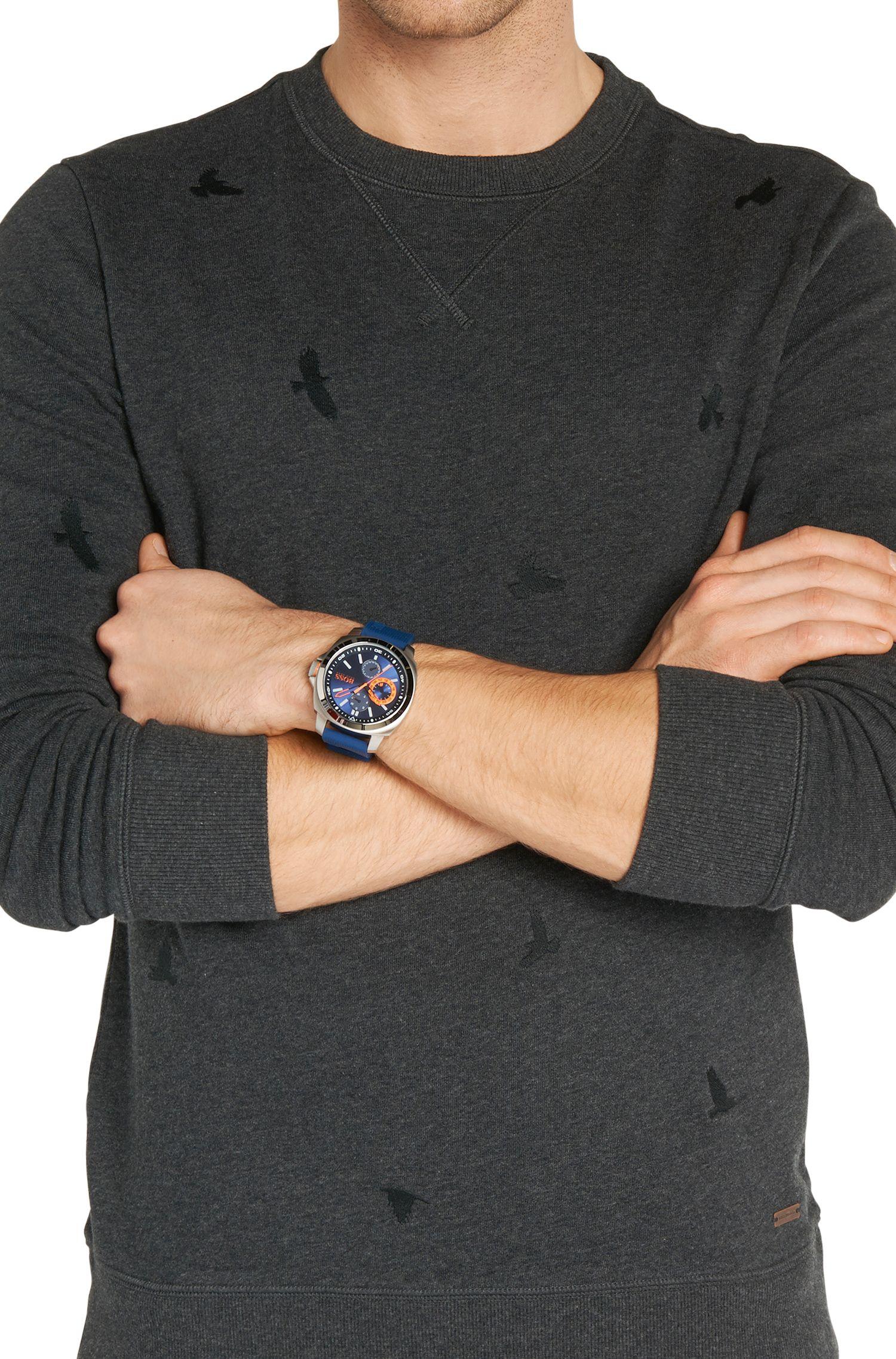 Armbanduhr mit Edelstahlgehäuse und Drei-Zeiger-Werk: 'HB2291'